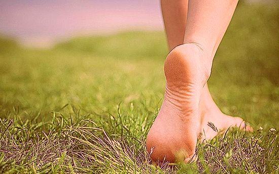 Если на ноге грибок