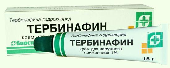 Тербинафин против грибка