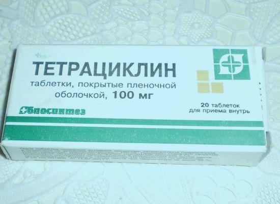 Тетрациклин от паразитов
