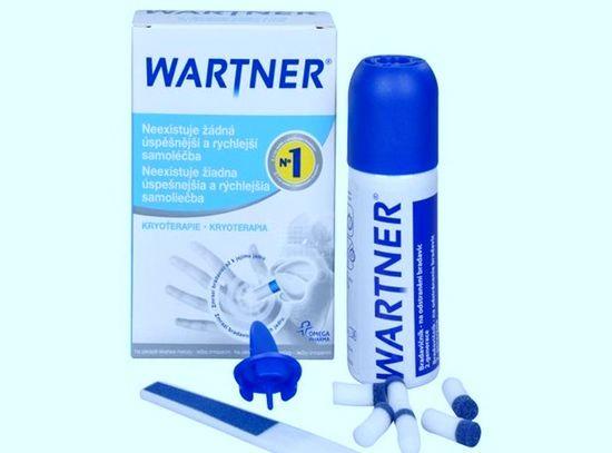 Лечение грибка Вартнером