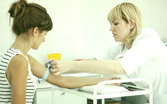 Анализы крови из вены