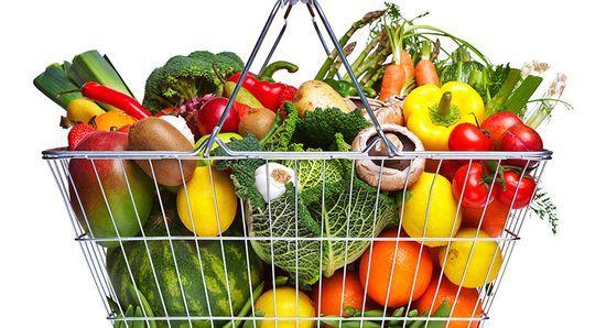 Фрукты и овощи против шлаков