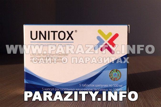 Unitox (Юнитокс): эффективный препарат от паразитов